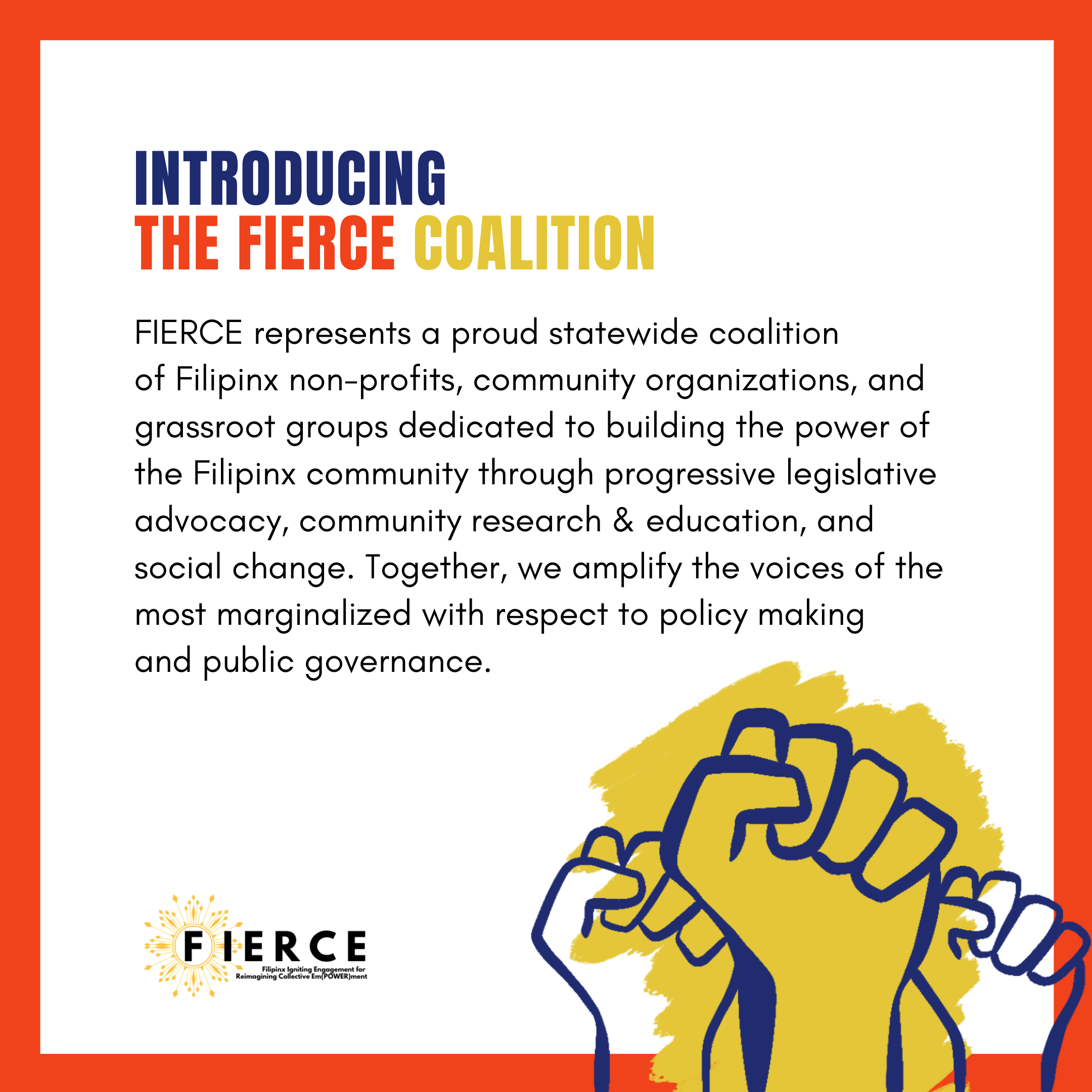 Introducing the Fierce Coalition