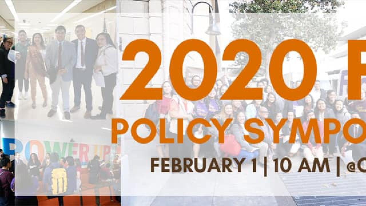2020 Policy Symposium Banner