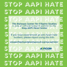 If you have experienced an anti-Asian hate incident, please report using this link: https://www.asianpacificpolicyandplanningcouncil.org/stop-aapi-hate/